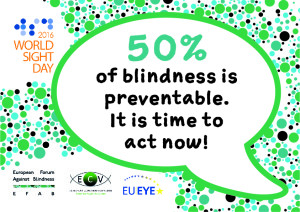 Supporting World Sight Day